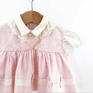 1960's Vintage Baby Dress size 0-3 Months vgvc